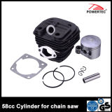 Garten Chain Saw Spare Part 58cc Cylinder