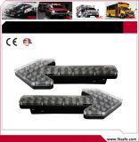 Richting Noodsituatie Stroble die Lichte Staaf met Adviseur Traffice waarschuwen (LTDG9228)