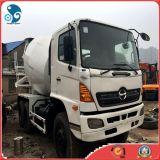 Caminhão usado Rustless do misturador concreto do cimento de Japão (6*4 Hino 500)