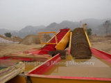 Linha de processamento do minério de magnetita para a recuperação do aço do ferro do ouro