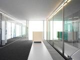 Paredes de vidro da divisória Tempered do escritório com AS/NZS2208: 1996, BS6206, certificado En12150