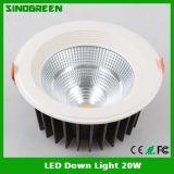 UL ligera de la FCC de RoHS del Ce de la alta calidad LED abajo