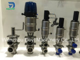 Stainless Steel Hygienic Pneumatic Mixproof Valve with Control Top