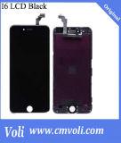 Alta pantalla del LCD del teléfono móvil del proformance para el iPhone 6g con el marco, digitizador, totalmente