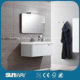 Vanité européenne moderne fixée au mur de salle de bains de modèle avec le Module de miroir