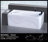 Tina caliente del masaje de baño del masaje hidráulico de acrílico de la tina (5244)