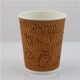 تموّج جدار [ببر كب], قهوة [ببر كب], [كفّ كب] ورقيّة