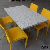 ダイニングテーブル-人工的な石、4人の着席表