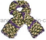 Lenço feito malha acrílico Handmade do Crochet
