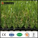 옥외 정원 SGS 세륨을%s 가진 자연적인 녹색 합성 잔디 뗏장