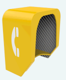 Клобук телефона акустический, акустический клобук телефона, напольный акустический клобук 23dB