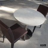 4 Seatersの固体表面の家具のレストランのコーヒーテーブル