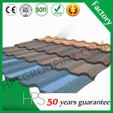 Azulejo de azotea revestido de la placa de material para techos del metal del color/del metal de la piedra en Etiopía