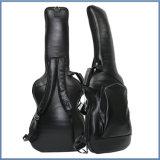 高品質の一義的でデラックスな革ギター袋