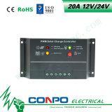 20A, 12V/24V 의 LED 지능적인 태양 관제사