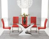 現代食卓デザイン優雅で白い結婚式表のセンターピース(NK-DT223-1)
