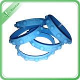 Fabrik-Großverkauf-Silikon-Energie-Armband-preiswerte kundenspezifische Silikon-Armbänder