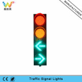 Luz de sinal 400mm cheia nova do tráfego do diodo emissor de luz da luz da seta da esfera