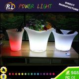 Der RGB-nachladbare LED Eis-Wanne Stab-Möbel-LED