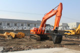 Excavadora-retroexcavadora Hitachi Ex200-3 usada Hydraulic Japan-Make 0.5 ~ 1.0cbm / 20ton Disponible-Long-Jib