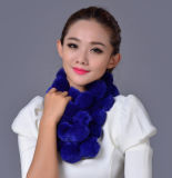 Lady Fashion Rex Coelho Fur Ball Winter Scarf (YKY4398)