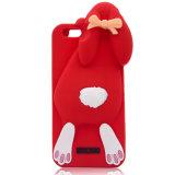 Motorola G4 S6edge S7edge Huawei P8 (XSDW-028)를 위한 토끼 만화 실리콘 전화 상자