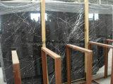 Nero Marquina/мрамор черноты/белых/черных/черное Marquina/отполировали/хонингованный мрамор для плиток/слябов