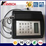 Telefono resistente all'intemperie del telefono del telefono Knex1 Iexex di Exproof