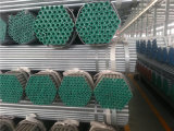 Tubo galvanizzato di programma 40 di ASTM A53 ASTM A106 gr. B con le protezioni di plastica