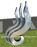 Openlucht Tuin en Binnenhuisarchitectuur van het Beeldhouwwerk van het Roestvrij staal