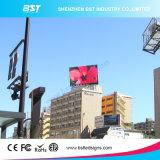 건물의 상단을%s 영상 벽을 광고하는 Bst 빠른 납품 P10 옥외 LED