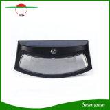 8 LEDの微笑の表面太陽エネルギーPIRの動きセンサーの壁ランプの屋外の防水庭ライト