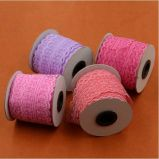 4.5cm 19 cores Crochet o laço elástico