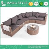 トトのソファーの一定の組合せのソファーの庭のソファーの一定の藤のソファーの屋外の家具の藤のソファーの柳細工のソファーのテラスの家具(魔法様式)