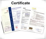 Сертификат Ce тяжелого румпеля трактора роторного Approved