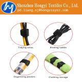 Serres-câble multicolores en nylon de crochet et de boucle
