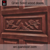 Дверь обеспеченностью твердой древесины дуба, нутряная дверь древесины комнаты