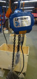 Товары скорости пакгауза одиночные поднимая электрическую таль с цепью с цепным падением 2 (ECH 02-02S)