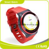 2016の赤の方法女の子の極度のスマートな腕時計