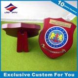 Muebles de madera de la placa de la percha del blindaje del alto esmalte Polished de la aguafuerte acabados