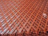 Strato in espansione della maglia del metallo ricoperto PVC della Cina (fabbrica)