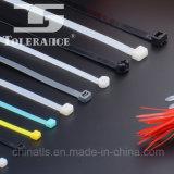 Lazo plástico del cierre relámpago de la atadura de cables de nylon colorida