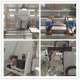 Centro di macchina concentrare di alluminio automatico della parete divisoria del portello della finestra di fresatrice di perforazione di profilo di CNC
