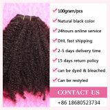 Afro скручиваемости качества сразу цены фабрики человеческих волос волосы продуктов вязания крючком оптовой продажи Coily самого лучшего глубокого перуанского Kinky курчавые