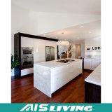 O espaço da forma da galeria conserva a mobília do gabinete de cozinha (AIS-K132)