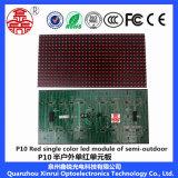 Modulo Singolo-Rosso esterno di P10 LED