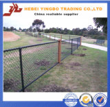 Загородка звена цепи хайвея PVC нового дешевого цены Yb-13 2016 покрытая