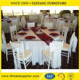 Оптовый белый алюминиевый стул Chiavari гостиницы