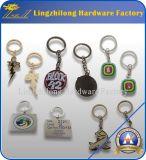 Automobile Keychain a forma di dell'argento 3D Samll di prezzi di fabbrica