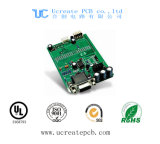 이동 전화를 위한 녹색 땜납 가면을%s 가진 1.6mm PCB